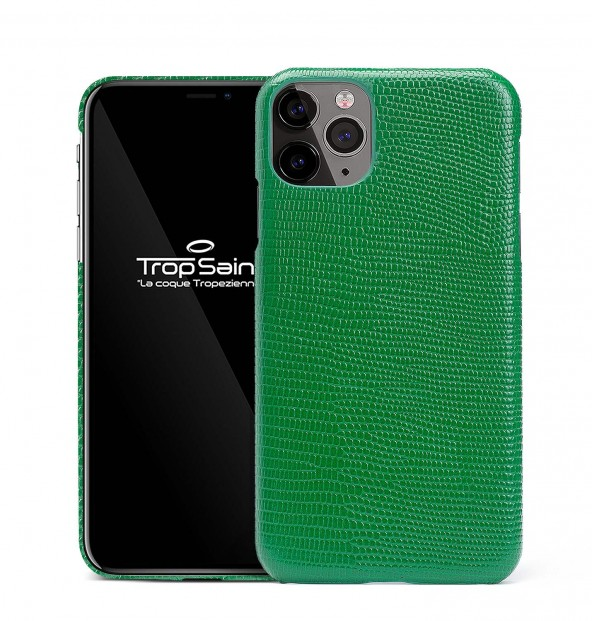 iPhone Genuine Snake Leather Case-Natural