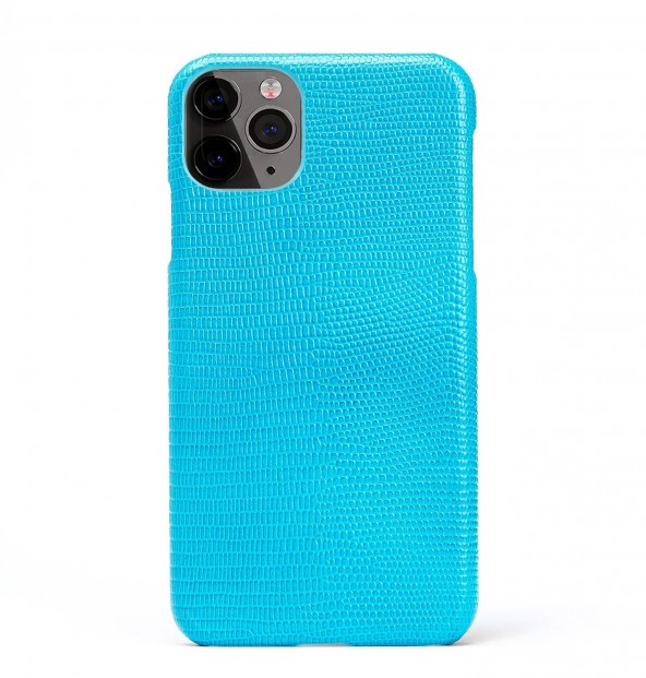 iPhone Leather Case-Skull-Black