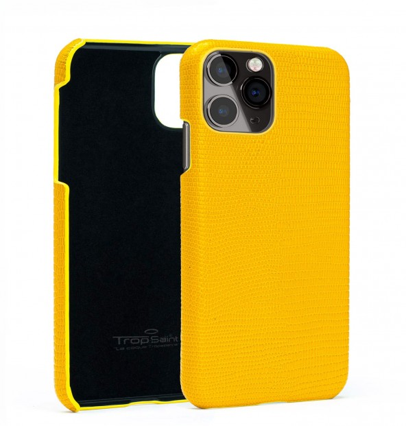 iPhone Python Leather Wallet-Natural