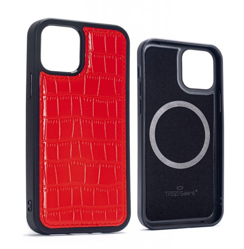 Python Leather iPhone Case-Natural