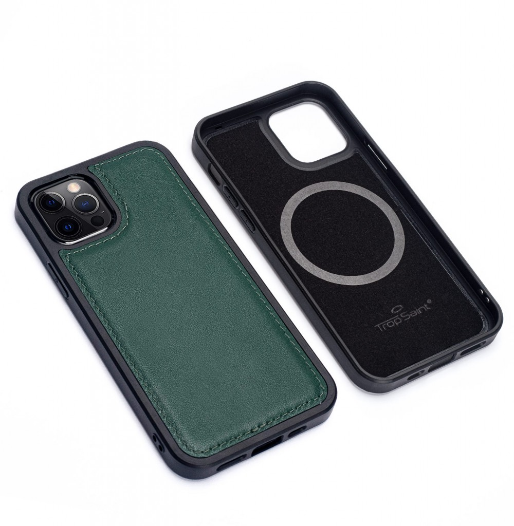 iPhone Shagreen Leather Wallet-Blue